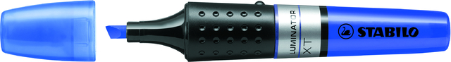 Textmarker LUMINATOR®, Keilspitze, 2 - 5 mm, Schreibf.: blau