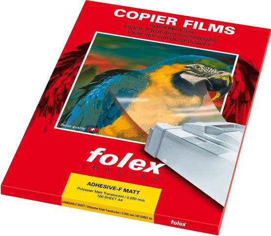 Kopierfolie, XAF, sk, A4, 0,05mm, farbl., matt