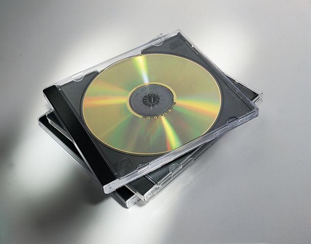 CD-Hülle JewelCase, für: 2CDs, sw