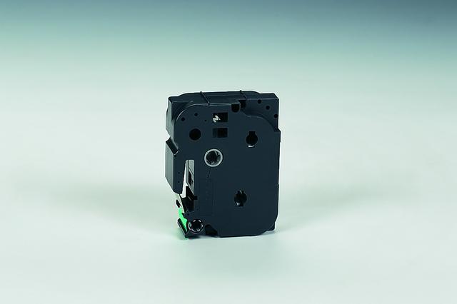 Schriftbandkassette TZe, PES, laminiert, 9 mm x 8 m, schwarz auf grün