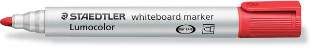 Boardmarker Lumocolor® 351, Rundspitze, 2 mm, Schreibf.: rot