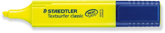 Textmarker Textsurfer classic, Keilspitze, 1-5mm, Schreibf.: gelb