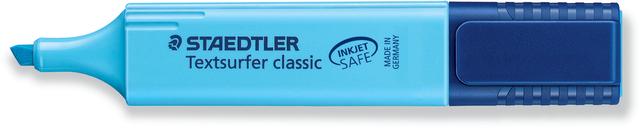 Textmarker Textsurfer classic, Keilspitze, 1-5mm, Schreibf.: blau