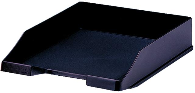 Briefkorb, PS, C4, 255 x 348 x 65 mm, schwarz