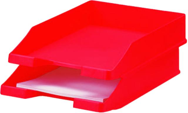 Briefkorb, PS, C4, 255 x 348 x 65 mm, rot