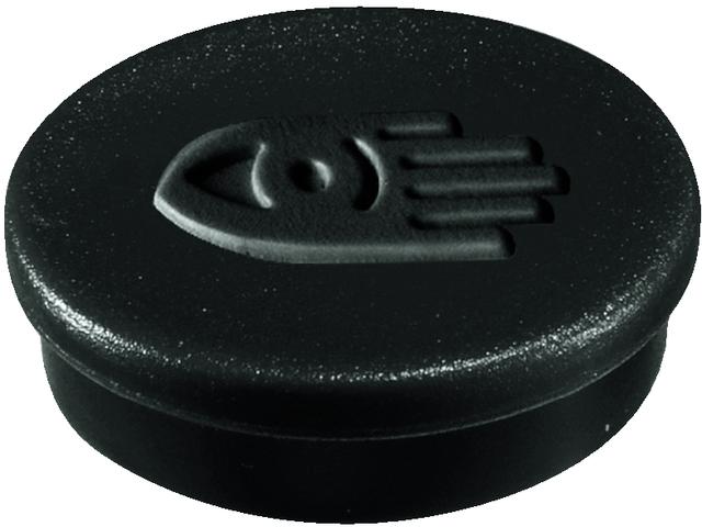 Magnet, rund, Ø: 30 mm, Haftkraft: 850 g, schwarz