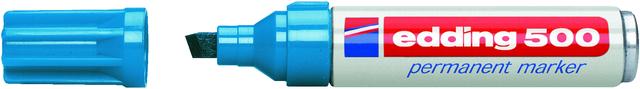 Permanentmarker 500, Keilspitze, 2 - 7 mm, Schreibf.: hellblau