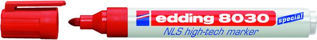 Marker NLS high-tech, Einw., Rsp., 1,5-3 mm, Schreibf.: ro
