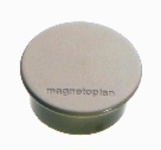 Magnet Discofix mini, Ø: 20mm, Haftkraft: 100g, grau