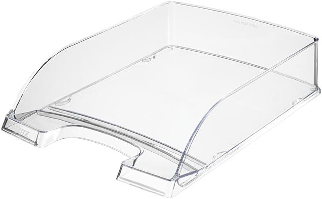 Briefkorb Plus, PS, A4, 255 x 357 x 70 mm, farblos, transparent, gl.