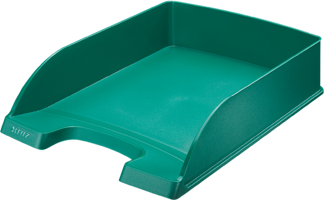 Briefkorb Standard Plus, PS, A4, 255 x 357 x 70 mm, grün