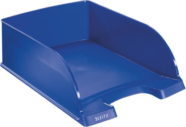 Briefkorb Jumbo Plus, PS, A4, 255 x 360 x 103 mm, blau