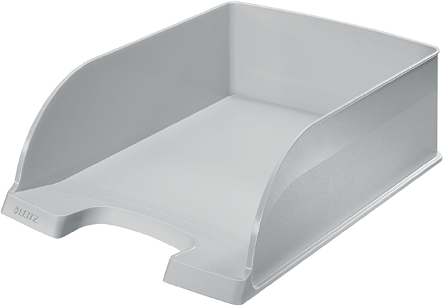 Briefkorb Jumbo Plus, PS, A4, 255 x 360 x 103 mm, grau