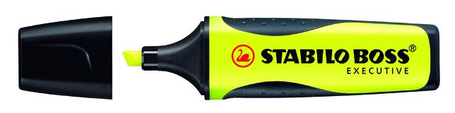 Textmarker BOSS® EXECUTIVE, Keilspitze, 2 - 5 mm, Schreibf.: gelb