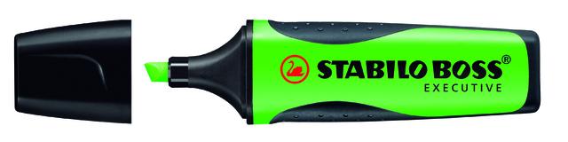 Textmarker BOSS® EXECUTIVE, Keilspitze, 2 - 5 mm, Schreibf.: grün