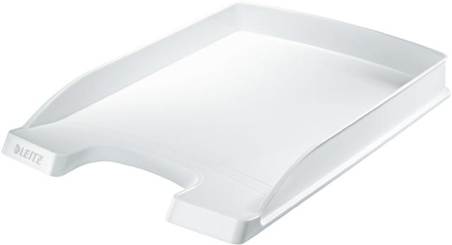 Briefkorb Plus, PS, A4, 255x360x37mm, weiß