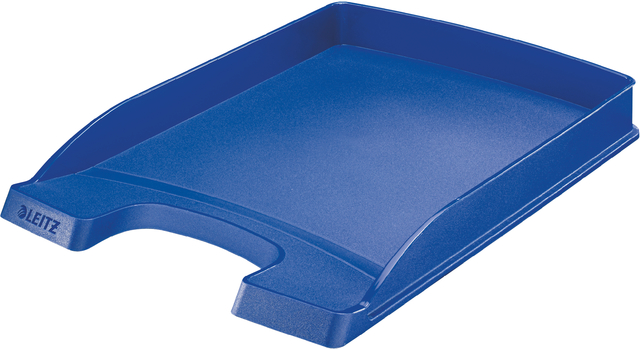 Briefkorb Plus, PS, A4, 255x360x37mm, blau