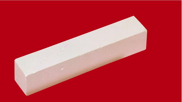 Stangenkreide, 100 x 20 x 20 mm, Schreibf.: weiß