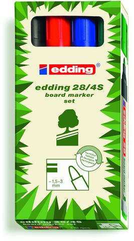 Boardmarker, 28, Rsp., 1,5-3 mm, Schreibf.: 4er so