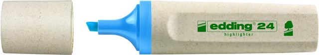 Textmarker 24, nachfüllbar, Keilspitze, 2 - 5 mm, Schreibf.: hellblau