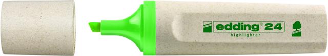 Textmarker 24, nachfüllbar, Keilspitze, 2 - 5 mm, Schreibf.: hellgrün