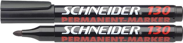 Permanentmarker Maxx 130, Rundspitze, 1-3mm, Schreibf.: schwarz