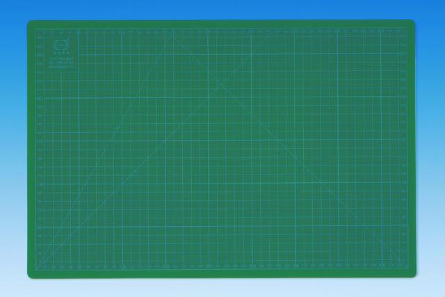 45 x 30 cm grün 3 mm CM45 WEDO® Schneideunterlage mit Hilfslinien