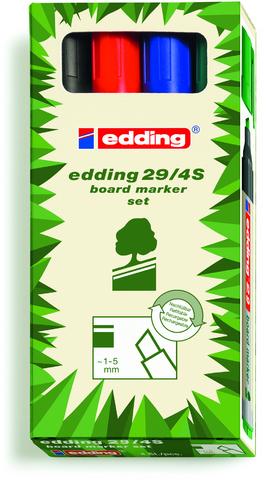 Boardmarker, 29, Ksp., 1-5mm, Schreibf.: 4er so
