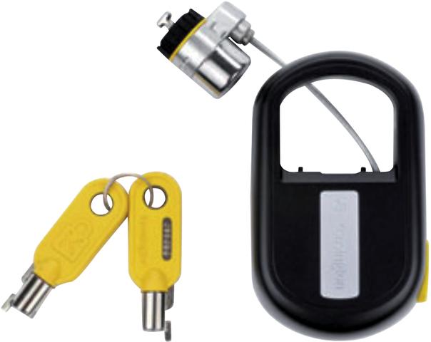 Kabelschloss MicroSaver®, Kabel einziehbar, Kabellänge: 1,2m