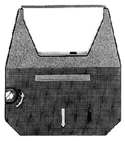 Farbband, 544551, Gr.154C, Karbon, schwarz