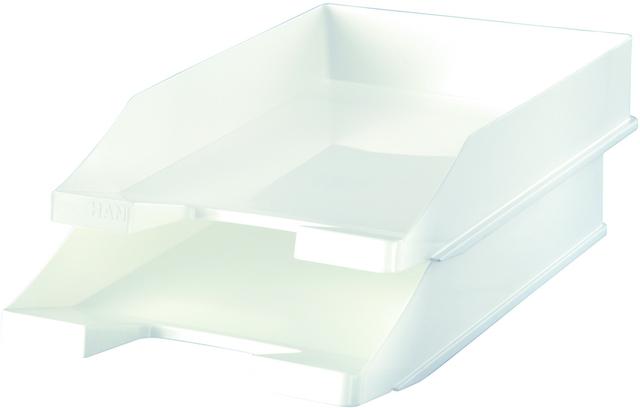 Briefkorb, PS, C4, 255 x 348 x 65 mm, weiß