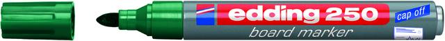 Boardmarker 250, nachfüllbar, Rundspitze, 1,5-3 mm, Schreibf.: grün
