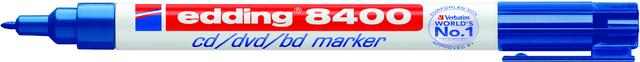CD-Marker 8400, Einweg, Rsp., 0,5 - 1 mm, Schreibf.: blau