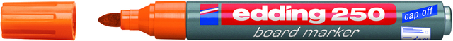 Boardmarker 250, Einweg, Rundspitze, 1,5-3 mm, Schreibf.: orange