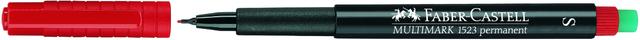 OH-Stift MULTIMARK, S, permanent, 0,4mm, Schreibf.: rot