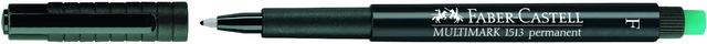 OH-Stift MULTIMARK, F, permanent, 0,6mm, Schreibf.: schwarz