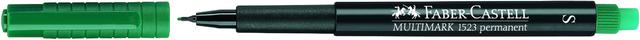 OH-Stift MULTIMARK, S, permanent, 0,4mm, Schreibf.: grün