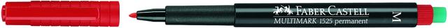 OH-Stift MULTIMARK, M, permanent, 1mm, Schreibf.: rot