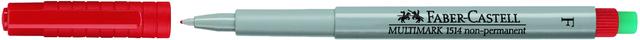 OH-Stift MULTIMARK, F, non-permanent, 0,6mm, Schreibf.: rot