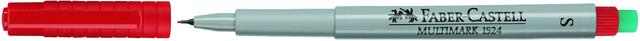 OH-Stift MULTIMARK, S, non-permanent, 0,4mm, Schreibf.: rot