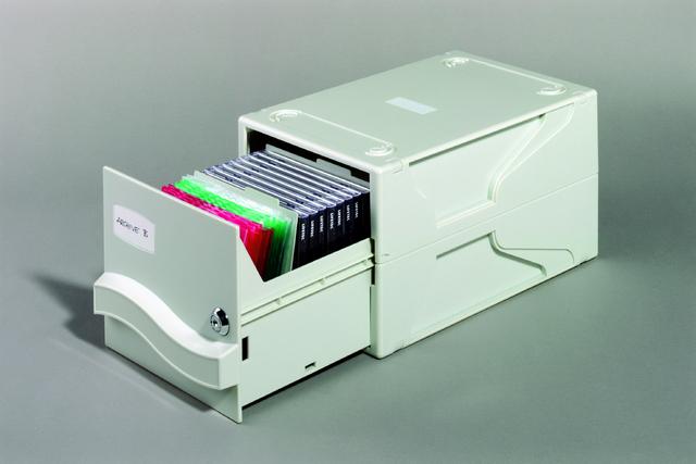 Multimediabox I, 190x305x165mm, grau