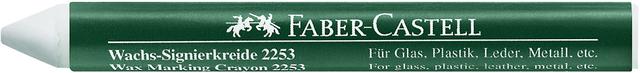 Wachssignierkreide 2253, rund, Papierhülle, Ø: 10mm, Schreibf.: weiß