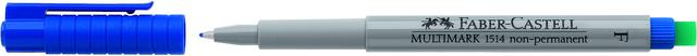 OH-Stift MULTIMARK, F, non-permanent, 0,6mm, Schreibf.: blau