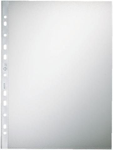 Prospekthülle, PP, A4, 0,1 mm, farblos, genarbt