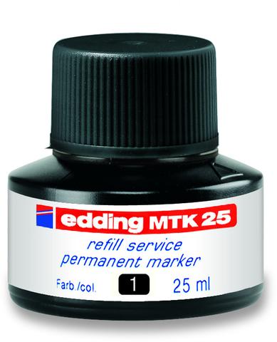 Nachfülltusche MTK 25, für: Permanentmarker, Schreibf.: schwarz