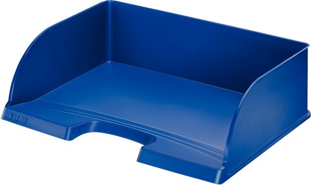 Briefkorb Jumbo Plus quer, PS, A4+, 363 x 273 x 103 mm, blau