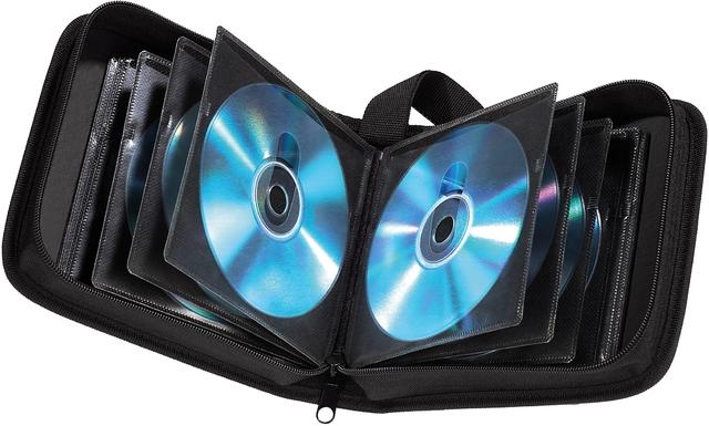 CD-Tasche, Ny, 164x45x166mm, für: 20CDs, sw