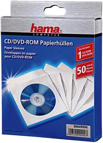 CD-Hülle, Pap., für: 1CD, weiß