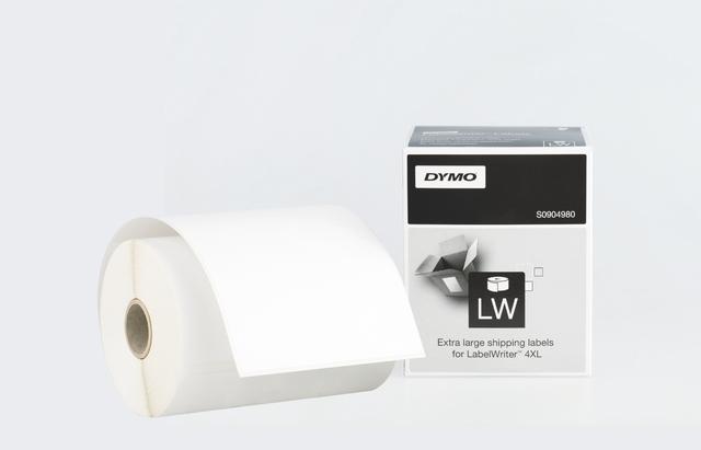 Etikett LabelWriter, Versandetikett, sk, permanent, 104x159mm, weiß