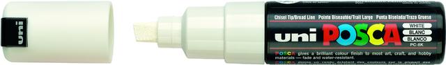 Permanentmarker, PC-8K, POSCA, Ksp., 8mm, Schreibf.: weiß